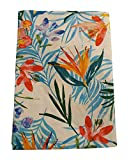 Mantel de flores de verano o 6 plazas o 12 plazas precioso Home (fantasía de 2, 12 plazas)