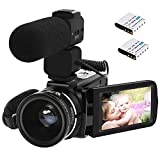 Best Camcorders Hdvs - Camcorder,ORDRO HDV-Z20 Video Camera FHD 1080P 30FPS WiFi Review