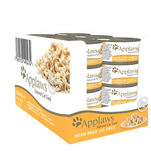 Applaws Chicken and Cheese Can 24 x 70 g