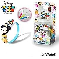 InfoThink/Disney TSUM TSUM ツムツム/リストバンド microUSBケーブル 22.5cm 充電&データ移行/TSUM-CABLE-07 / BIG 2 & SMALL 5 ランダム