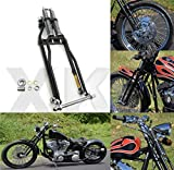XKMT-Stock Length 22' Black Springer Front End Compatible With Harley Sportster Chopper Softail Dyna [B07M939R4L]
