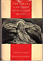 Poetry and Prose of William Blake 0385031971 Book Cover