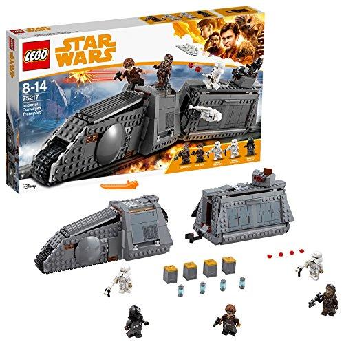 LEGO Star Wars - Imperial Conveyex Transport, Juguete de Construcción de la Guerra de las Galaxias Basado en la Película de Han Solo, Incluye Minifiguras (75217)