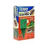 TERRO T1812 Outdoor Liquid Ant Killer Bait Stakes - 8 Count (0.25 oz each) by Terro
