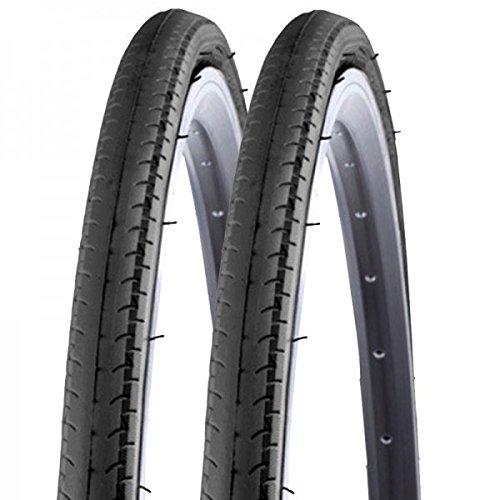 2x Kenda Rennrad Fixie Reifen Kontender K-196 26-622 700x26C Draht schwarz