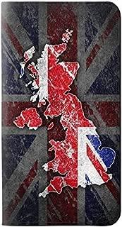 RW2936 UK British Flag Map PU Leather Flip Case Cover for Motorola Moto G5 Plus