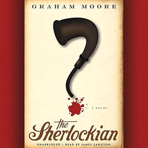 The Sherlockian audiobook cover art