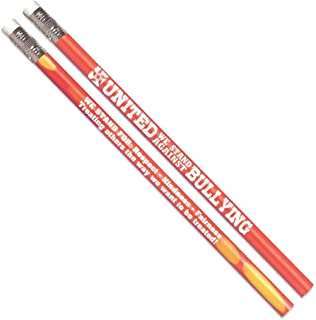 United We Stand Against Bullying Heat-Sensitive Pencils- Includes 100 Pencils