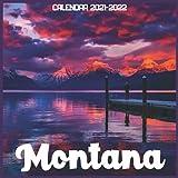Montana Calendar 2021-2022: April 2021 Through December 2022 Square Photo Book Monthly Planner Montana small calendar