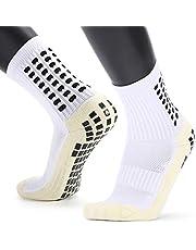 جوارب فيست نايت للرجال مضادة للانزلاق لكرة القدم جوارب طويلة رياضية ماصة للرياضة لرياضة كرة السلة وكرة القدم والجري والرحلات والتنزه سيراً على الأقدام