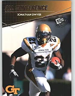 Jonathan Dwyer - Georgia Tech (All Conference ACC)(Rookie Year Card) 2010 Press Pass NFL Draft Football