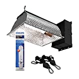 HTGSupply Digital Greenhouse 315W Ceramic Metal Halide Dimmable CMH System with Philips 4200K Full Spectrum Bulb & Hangers