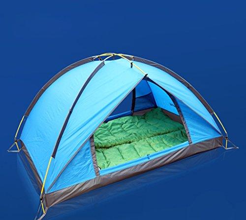 MUYUNXI Anti-muggen 2 dubbele stapelbed outdoor tent ultralichte regentent camping Strand Vissen Reis dfa Camping Tent
