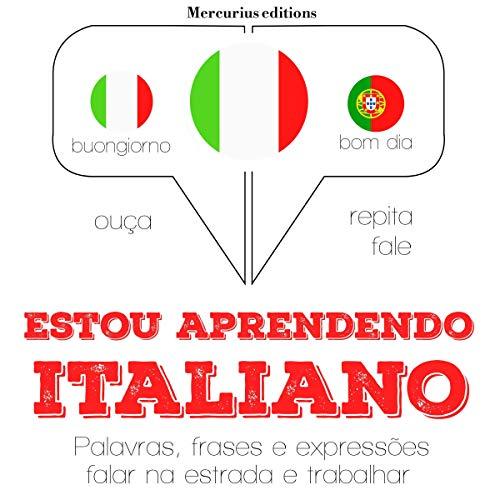 Estou aprendendo italiano audiobook cover art