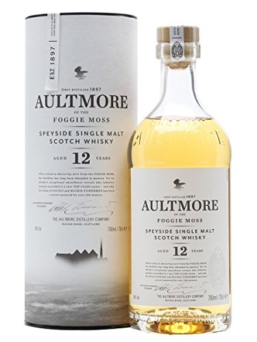 Aultmore Scotch Whisky Single Malt 12 Anni, 70 cl