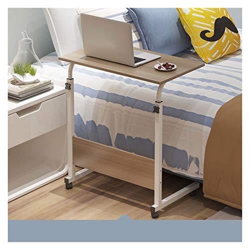 GUOQING Table Roulante De Lit Canapé Meuble Cosy Table pour Ordinateur Entraînement,Salon Professionnel,Domicile. (Color : Light Walnut B, Size : 60 * 30CM)