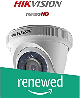 (Renewed) Hikvision 3MP DS-2CE5AF1T-IRP (3.6mm) Turbo HD Night Vision Dome Cameras