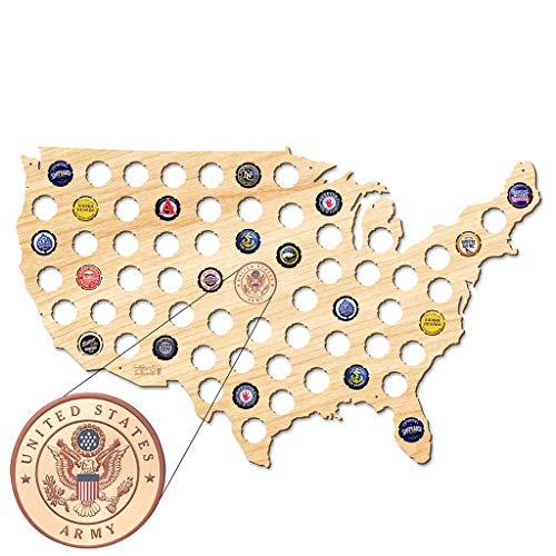 Tarjeta de cerveza de Estados Unidos, 109 colores, un regalo para hombres, una idea de regalo divertida para amigos de la cerveza y regalos para amigos de la cerveza, etc.