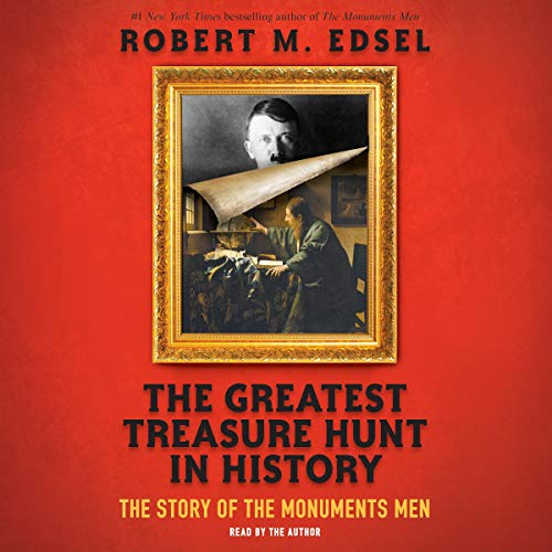 The Greatest Treasure Hunt in History audiobook cover art