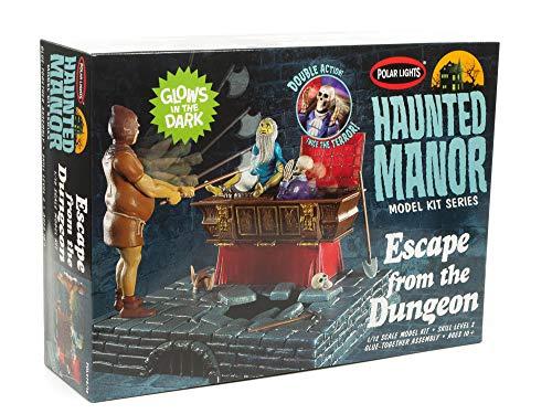 Polar Lights Haunted Manor Dungeon Escape Modell – Geisterhaus-Kit, Maßstab 1:12, leuchtet im Dunkeln, Diorama mit beweglichen Teilen