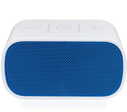 LOGITECH Lautsprecher Bluetooth Mobile Boombox - weiss/blau