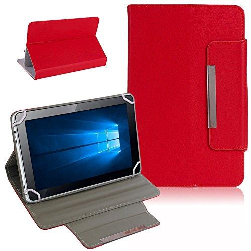 UC-Express Captiva Pad 7 Tablet Schutz Tasche Hülle Schutzhülle Case Cover Bag Etui NAUCI, Farben:Rot