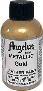 Angelus Acrylic Paint 4 Oz. (Gold)