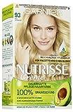 Garnier Nutrisse Creme Coloration Hell-Goldblond 93 / Färbung für Haare für permanente Haarfarbe...