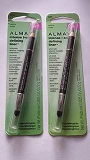 Almay Intense I-color Defining Liner for Green Eyes Mocha 034 (2 Pack)