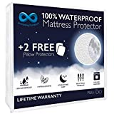 Everlasting Comfort Waterproof Full Size Mattress Protector with 2...