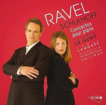 Ravel/Schulhoff: Concertos pour piano et orchestre