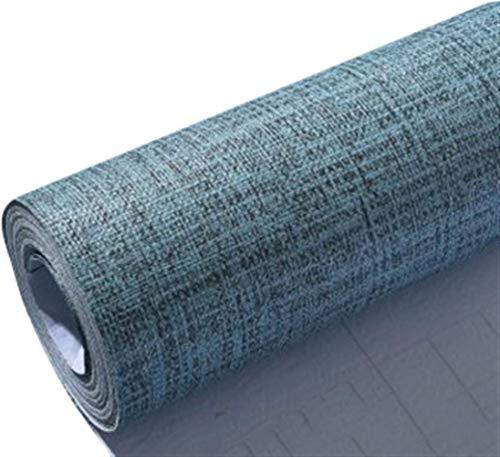 K-Flame PVC Aufkleber Küchenschränke Aufkleber Möbel Tapeten Wasserfest Anti Schimmel Schrank Folie Klebefolie Badezimmer Schlafzimmer Verschönen-0.6x5m Blau