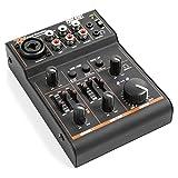 Power Dynamics PDM-D301BT mixer de 3 canales mesa de mezcla USB Ecualizador de 2 bandas