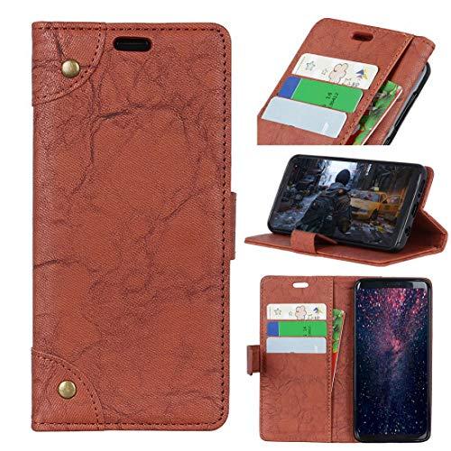 XIXI Telefoon Koper Gesp Retro Gek Paard Textuur Horizontale Flip Lederen Case voor Huawei Honor View 20, met Houder & Card Slots & Portemonnee (Zwart) High Tech, BRON