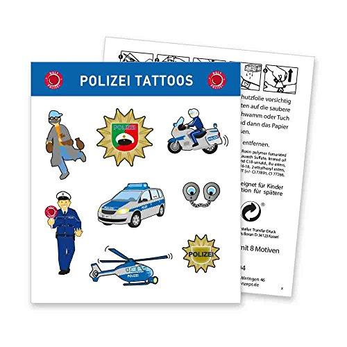 Polizei Tattoo Bogen