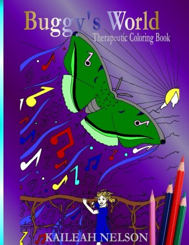 Buggy's World: Therapeutic Coloring Book