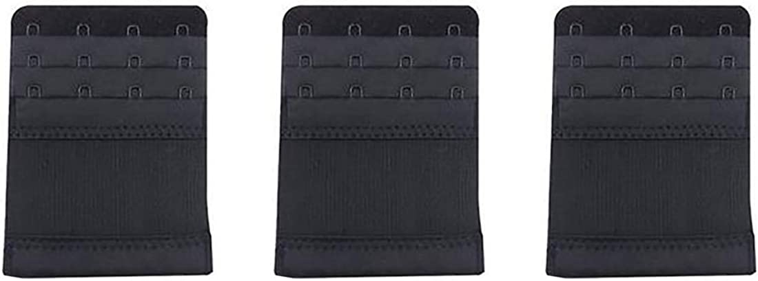 Huicai 3 pcs Columbus Mall Comfortable Adjustable Hook buckle bra Max 58% OFF 4 extension