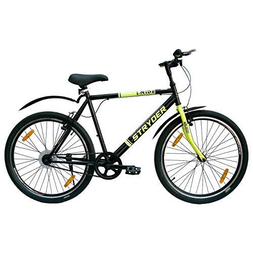 Stryder I-Ride Model 26 Inches MTB Speed Road Bike - 19' Frame, Black...