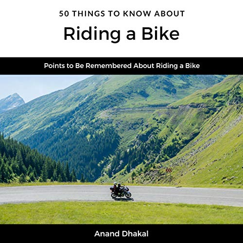 50 Things to Know About Riding a Bike audiobook cover art