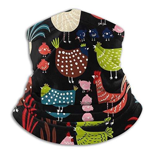 ShiHaiYunBai Tour de Cou Cagoule Microfibre Chapeaux Tube Masque Visage, Alexander Henry Fabric Fleece Neck Warmer - Reversible Neck Gaiter Tube, Versatility Ear Warmer Headband & For Men And Women