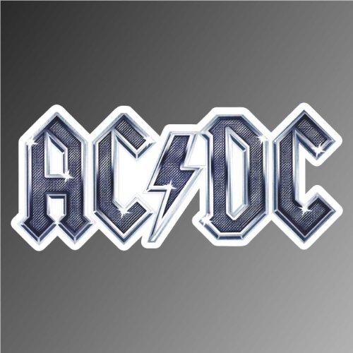Graphic-lab Aufkleber - Sticker ACDC AC/DC hip hop Rap Jazz Hard Rock Metal pop Funk Sticker