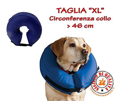 Leopet Collare gonfiabile - Collare protettivo gonfiabile per cani e gatti (XL)