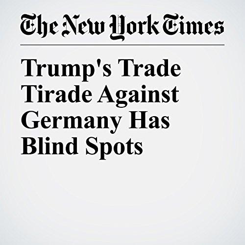 Trump's Trade Tirade Against Germany Has Blind Spots copertina