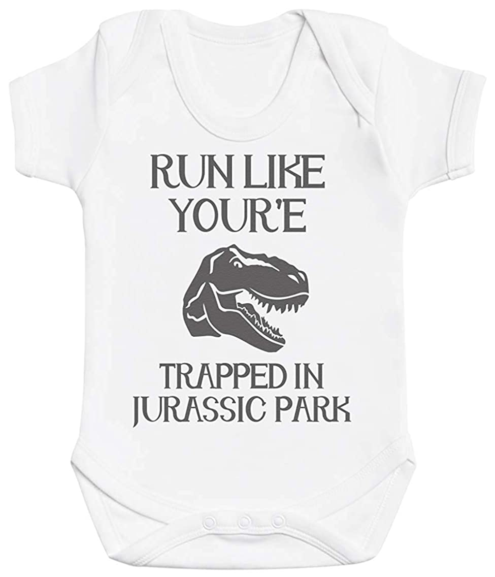 Freedom45457 Run Like You're Trapped Funny Baby Bodysuit Unisex Baby Onesies Baby Gifts