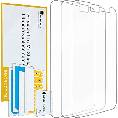 Mr Shield For LG K4 LTE / LG Optimus Zone 3 III / LG Spree Anti Glare [Matte] Screen Protector [3-PACK] with Lifetime Replacement Warranty