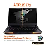 [2020] AORUS 17X (YB) Extreme Gaming Laptop, Lightest+Coolest in Class, 17.3-inch 300Hz IPS, GeForce RTX 2080 Super Max-P, Intel i9-10980HK, 32GB DDR4, 1TB NVMe SSD + 2TB 7200rpm HDD, Overclockable