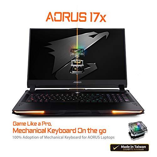 Compare Gigabyte AORUS 17X XB-8US2150MP (AORUS 17X XB-8US2150MP) vs other laptops