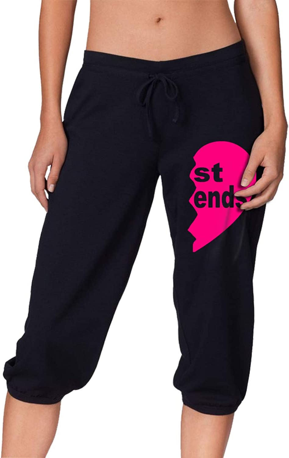 ZOJINYUA 01 St Ends Womens Casual Pant Shorts Jogger Sweatpants Running Trousers