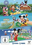 Micky Maus Wunderhaus - Farm / Weltreise / Sportfest [3 DVDs]