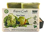 Tea Tree Soap. Cajeput, All Natural and Organic Palm Oil. Handmade in the USA. For acne, fungal infections, allergic skin